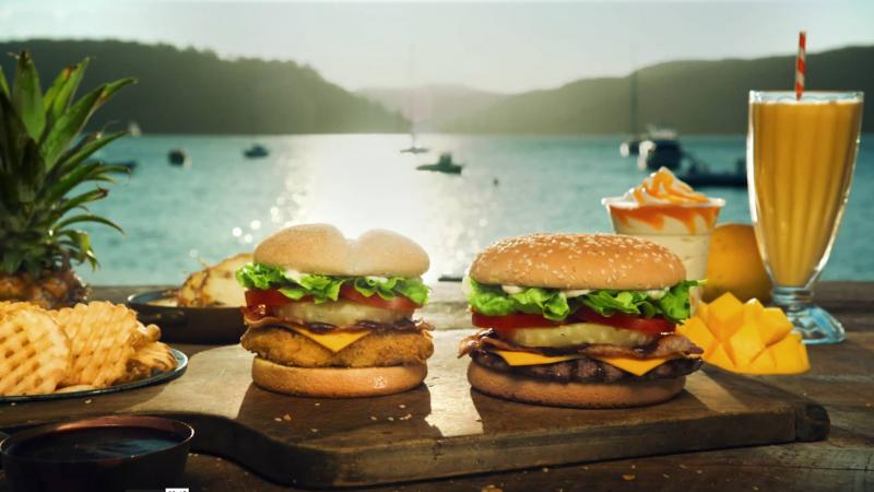 Hungry Jacks – Tropical Burgers